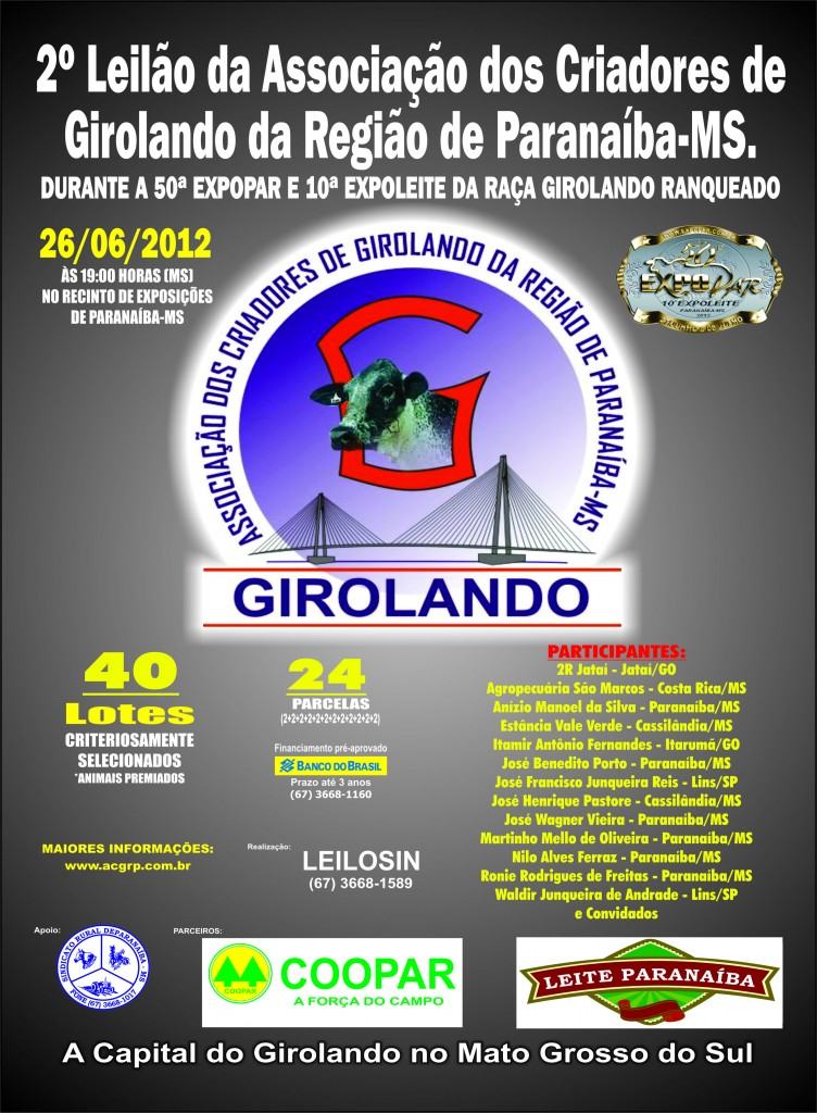 Leilão Expoleite 2012