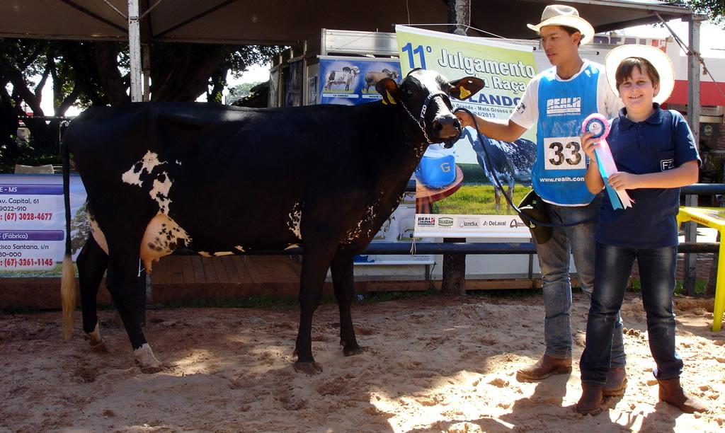 Reservada Grande Campeã Vaca 4 anos